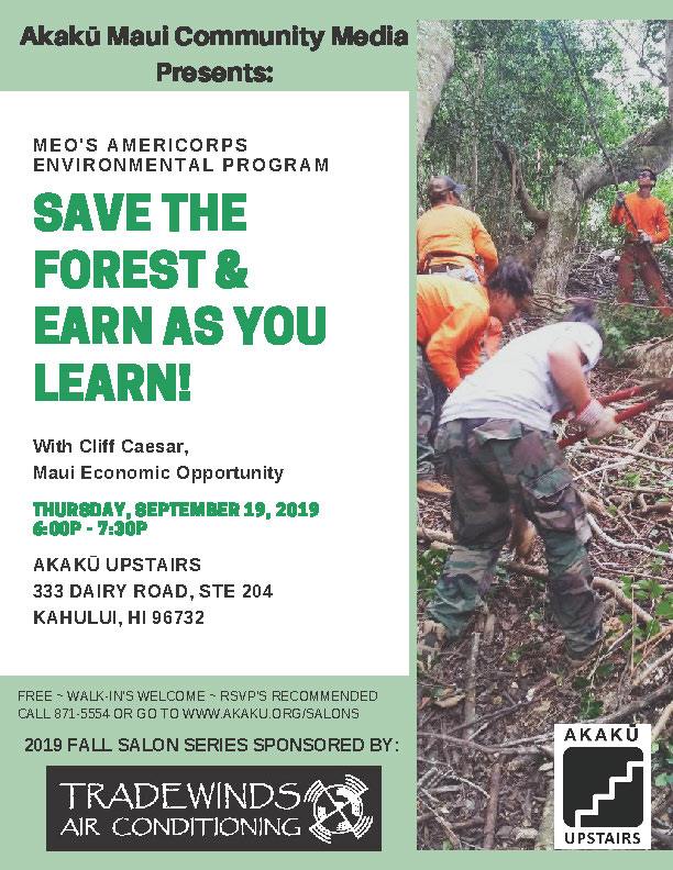 MEO's AmeriCorps Environmental Protection Program -