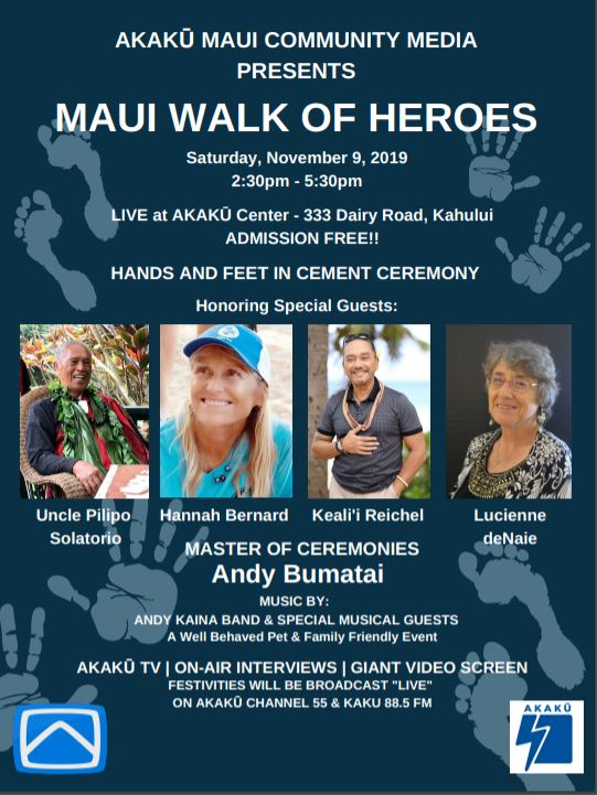 Akaku's 6th Walk of Heroes Celebration